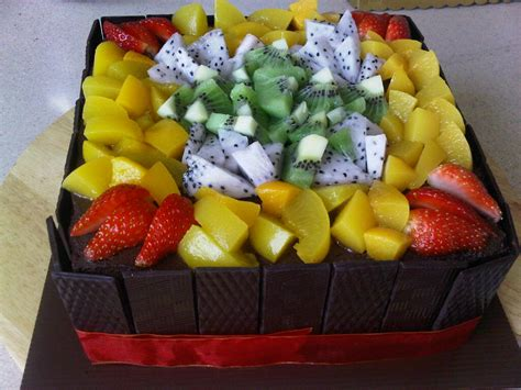 Cakes Decorated With Fruit by Cake Decoration Ideas With Fresh Fruits Trendy Mods