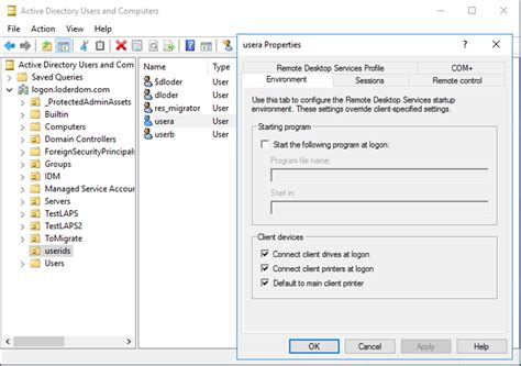 Active Directory Management Console by Remote Server Administration Tools For Windows 10