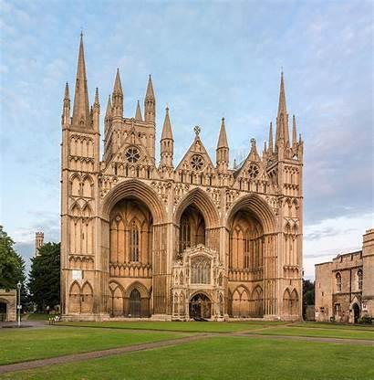 Peterborough Cathedral Wikipedia Cambridgeshire Exterior Wiki