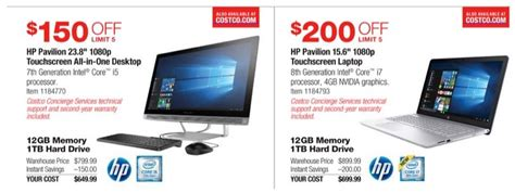 black friday table deals 2017 costco 2017 black friday ads leak with deals on laptops