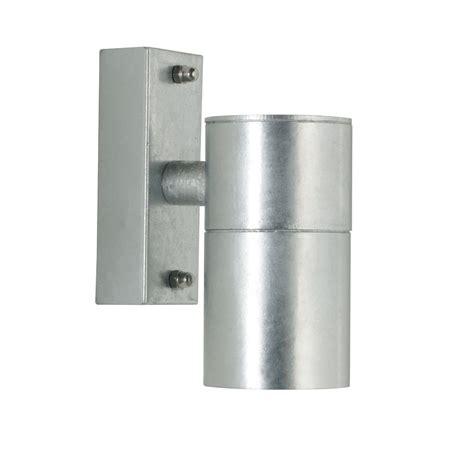 nordlux castor 71351031 galvanized wall light