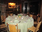 dinner table set up on first night - Picture of The Point ...