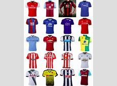 201516 Premier League shirts for all 20 teams [PHOTOS