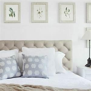 Tete De Lit Bleu : 50 id es pour fabriquer une t te de lit ~ Premium-room.com Idées de Décoration