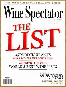 Wine Spectator: If you can't buy it, we won't review it