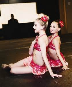 Maddie and Chloe From Dance Moms