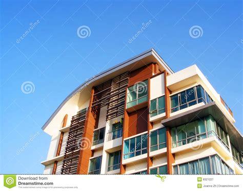 architecture moderne d appartement photographie stock libre de droits image 8321227