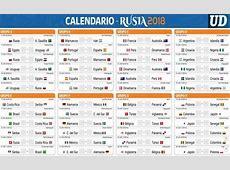 Rusia 2018, El Universal En Rusia Fútbol América