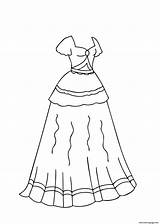 Coloring Printable Colorear Template Catrina Libro Templates Ballroom Quizlet Drawings Ball Gowns Printables 4kids sketch template