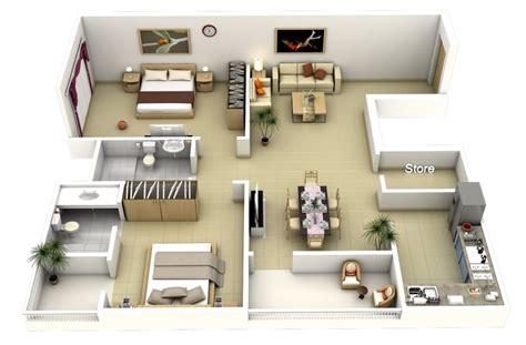 desain rumah minimalis  kamar mungil  terkesan luas