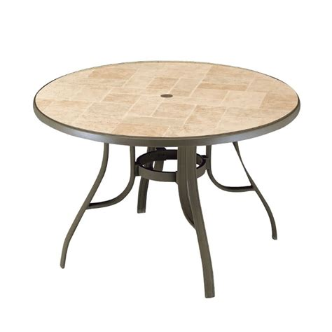 picnic table with umbrella hole outdoor coffee table with umbrella hole design roy home