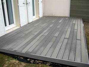 Lame Composite Pour Terrasse Leroy Merlin : terrasse composite leroy merlin avis nos conseils ~ Zukunftsfamilie.com Idées de Décoration