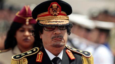 libyan leader muammar gaddafis  strangest moments