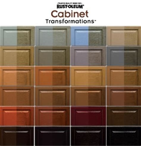 Rustoleum Cabinet Refinishing Kit Colors by Rust Oleum Cabinet Transformations