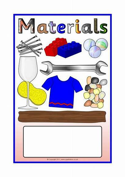 Materials Topic Sparklebox Covers Items Editable