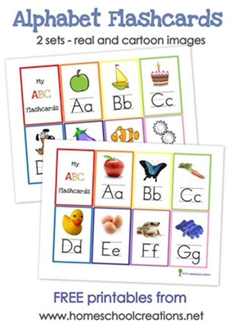 alphabet flash cards  alphabet wall posters