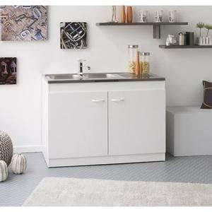 Meuble Sous Evier 120 Cm : meuble sous evier avec evier achat vente pas cher ~ Melissatoandfro.com Idées de Décoration
