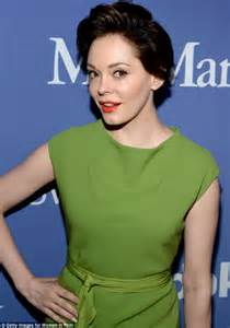 Rose McGowan ditches platinum blonde to return to her ...