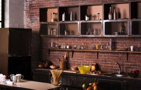 brique cuisine la brique dans votre salle à manger 20 modèles pour vous