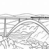 Coloring Harpsichord Pages Bridge Tunel Designlooter Printable sketch template