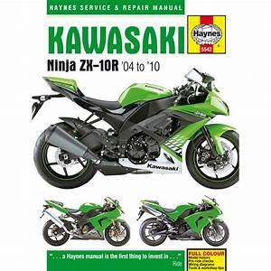Kawasaki Ninja Zx10r Haynes Manual 2004