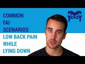 common quotfaiquot scenarios low back pain when lying down With back hurts when lying down