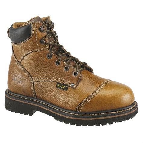 comfortable boots mens s 6 quot ad tec 174 comfort work boots brown 303850 work