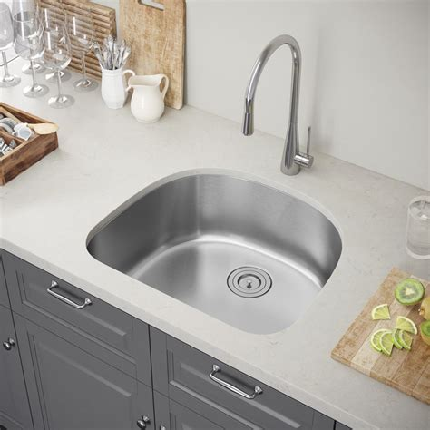 24 inch undermount kitchen sink exclusive heritage 24 x 21 single bowl undermount 7302