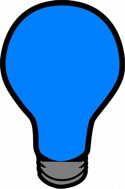 Lightbulb Bulb Clip Clipart Led Vector Clker