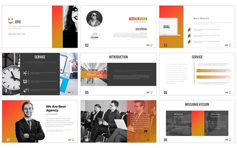 epic powerpoint  powerpoint template