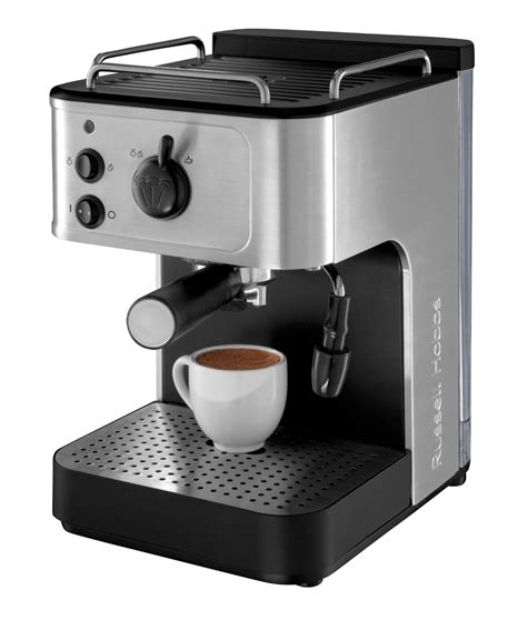 espresso coffee maker honeys giftware russell hobbs 18623 espresso coffee maker honeys giftware