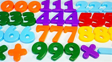 Learn With Magnetic Numbers To Count