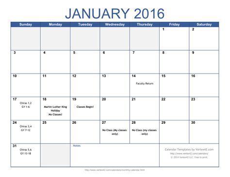 printable calendar sunday  saturday calendar