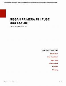 2002 Nissan Pathfinder Fuse Box Diagram