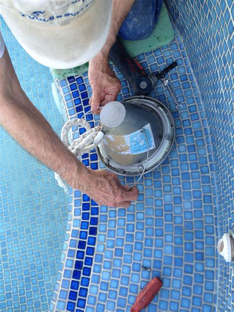 changing pool light how to change a pool light f22 on fabulous image