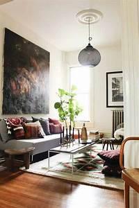 85 inspiring bohemian living room designs digsdigs for Bohemian living room