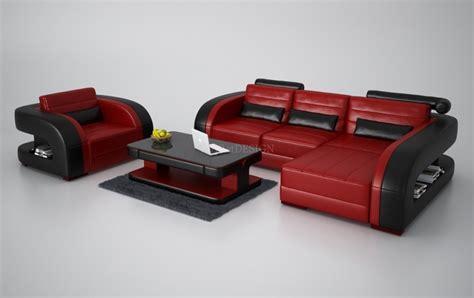 d tacher un canap en cuir canapé d 39 angle en cuir avec fauteuil assorti italien