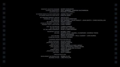 credits template post production archives studiobinder