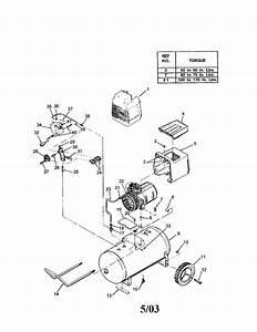 Devilbiss Model F420 Air Compressor Genuine Parts