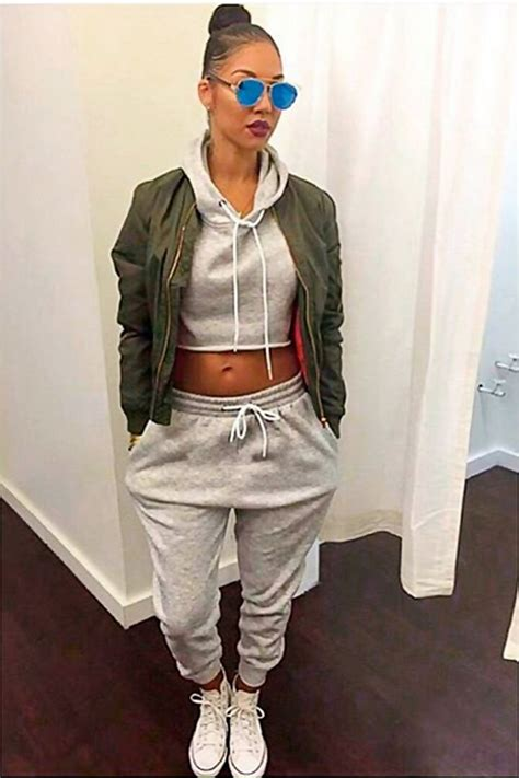 25+ best ideas about Sweatpants outfit on Pinterest   Nike sweatpants Nike joggers and Nike pants