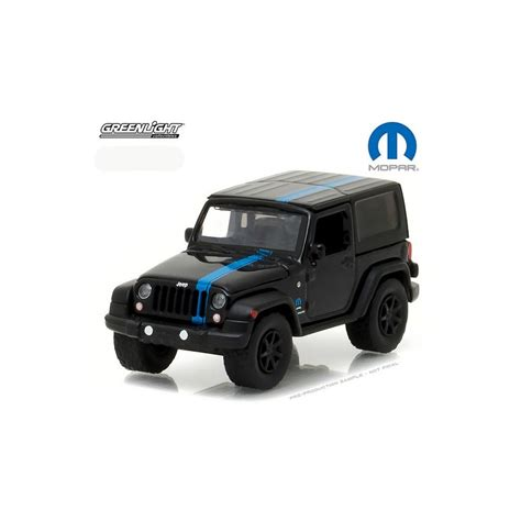 mopar jeep wrangler greenlight hobby exclusive 2010 jeep wrangler mopar edition