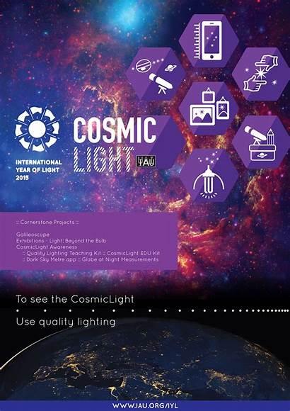 Poster Cosmic Iyl Iau Enlarge Publication