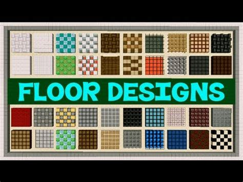 minecraft modern floor designs minecraft floor designs
