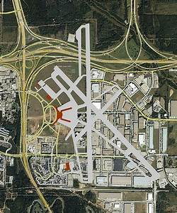 Greater Southwest International Airport Map
