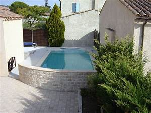 vente installation et renovation de piscines beton hors With construction piscine hors sol en beton 0 20 photos de piscine en beton