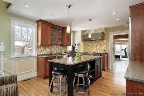 Pictures Of Kitchens-traditional-medium Wood Kitchens