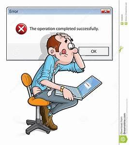 Free Erreur Video : error on laptop cartoon stock vector illustration of cartoon 15908596 ~ Medecine-chirurgie-esthetiques.com Avis de Voitures