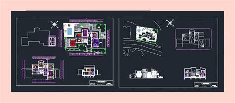 Appartamento Dwg by Apartamento En Autocad Descargar Cad Gratis 1 15 Mb