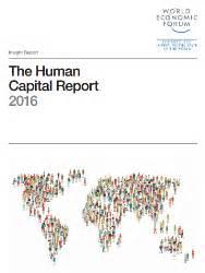 World Economic Forum released the Human Capital Report 2016