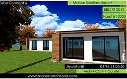 High quality images for maison cubique moderne plain pied wall73d9.ga